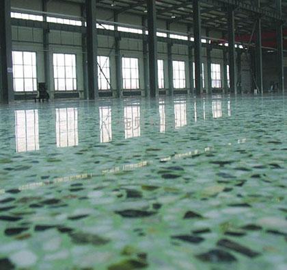 厂房磨石地坪